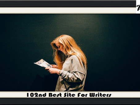 102nd Best Site For Writers - Short Story