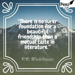 no surer foundation for a relationship q