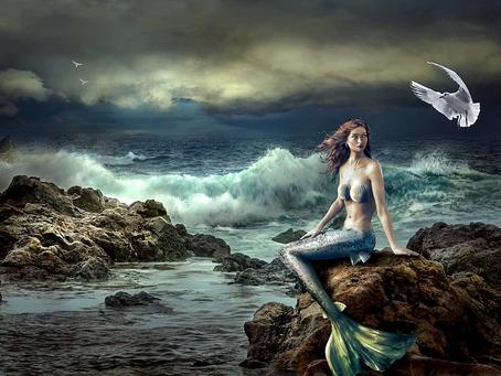 Mermaid Liberated - Poem