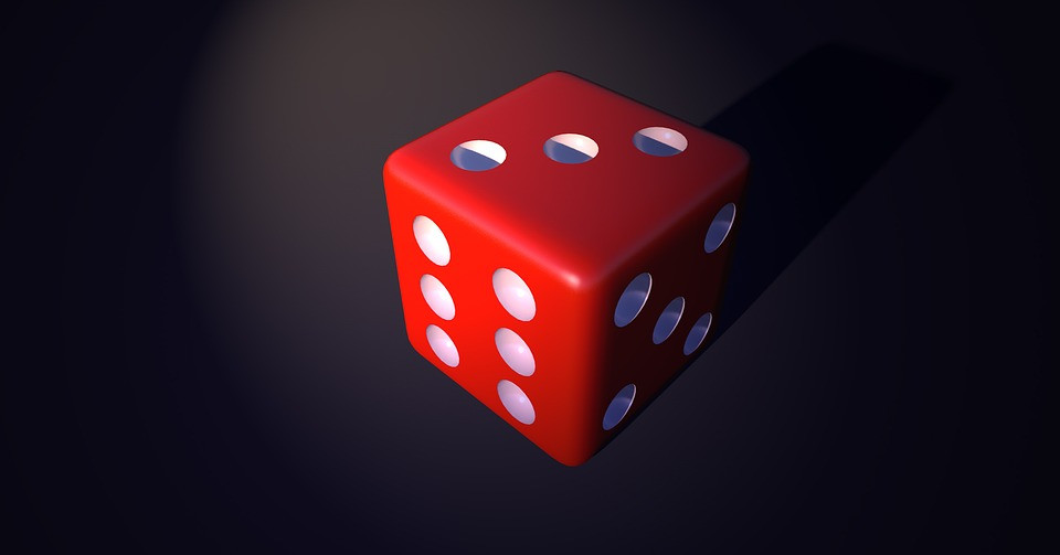 cube play random gambling luck red points