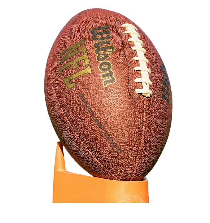 football ball american football NFL leathercraft