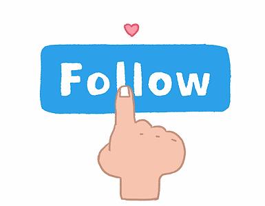 follow follower social social media