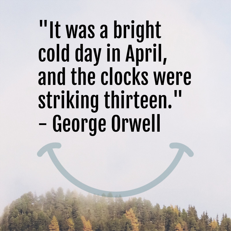 george orwell literary quote
