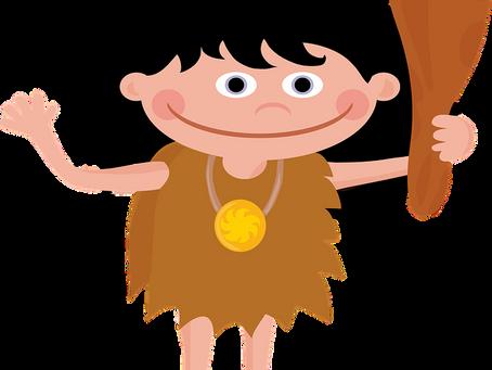 The Caveman Writer - Short Story
