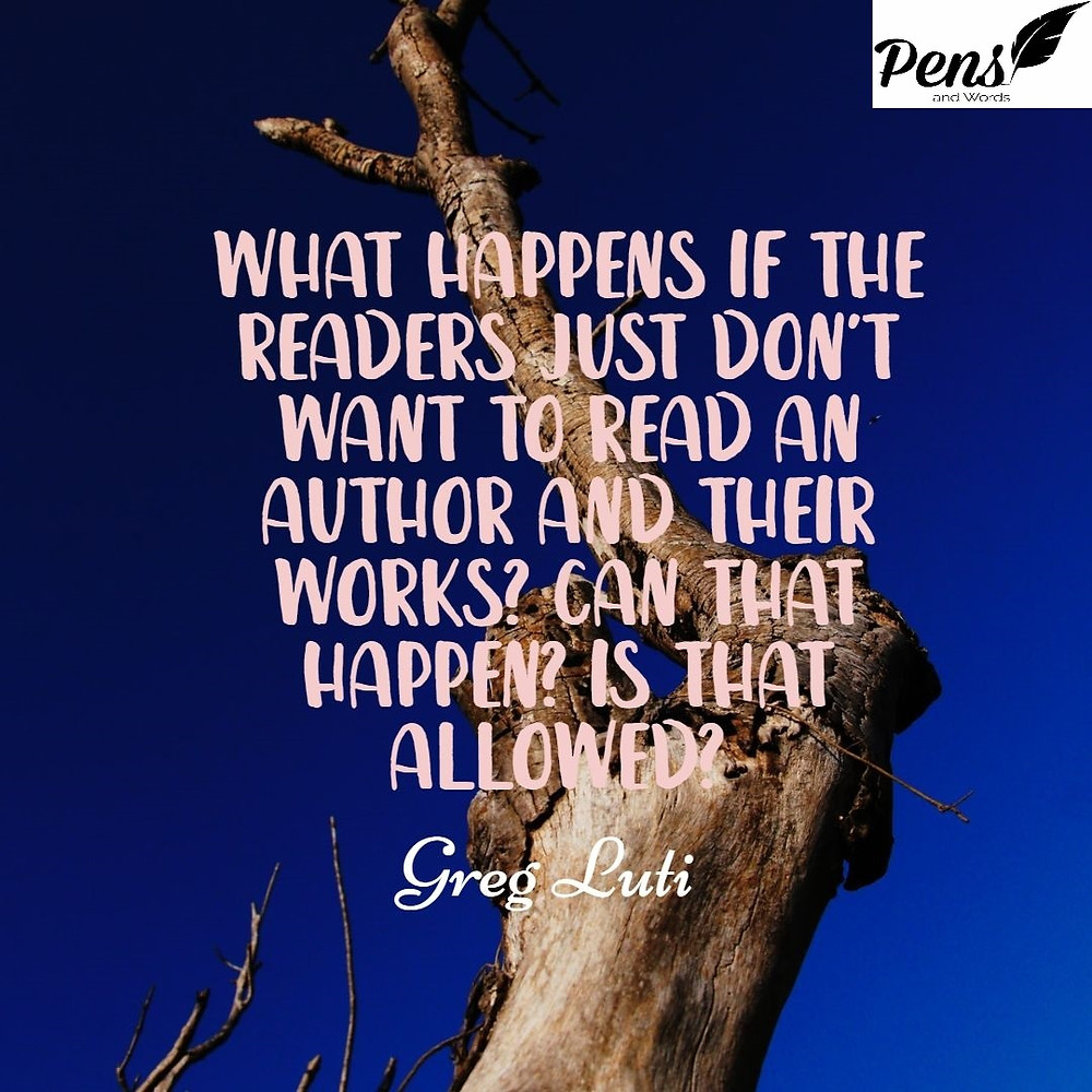 quote readers author read pens and words