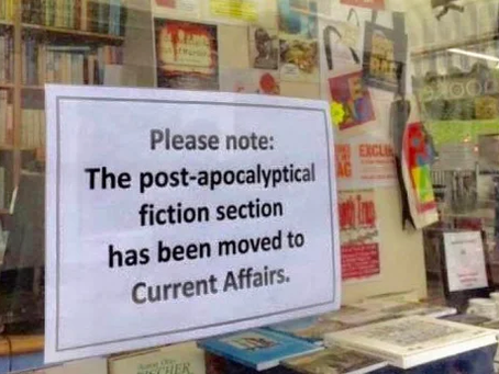 Post-Apocalyptic Sign-In Window - Literary Meme
