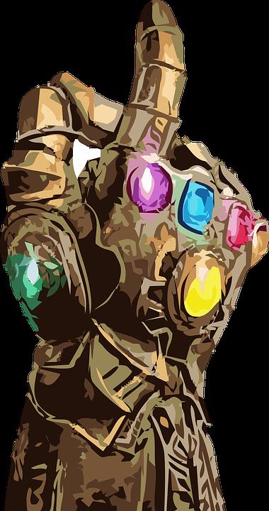 thanos infinity gauntlet fingers