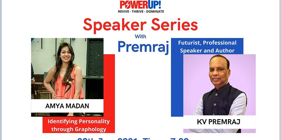 POWER UP! Speaker series