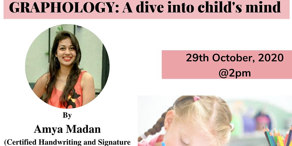 Graphology: A dive into child's mind