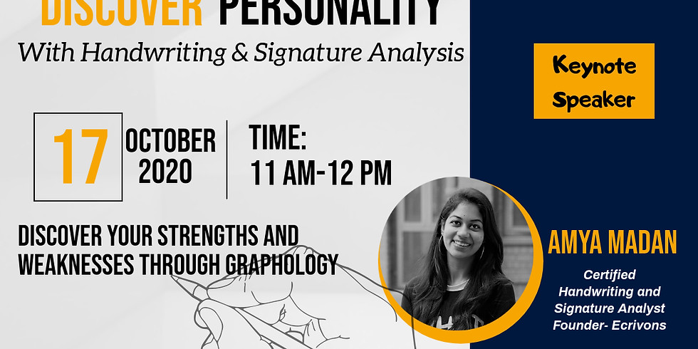 Free Webinar- Discover Personality with Handwriting Analysis