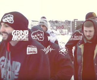Here you have Vol.2 of #GrindModeCypher Maine edition, on #HipHopEverything