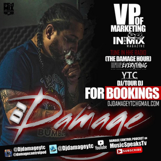 [Trending Item] Damage Control: Podcast with DJ DAMAGE!! @DjDamageYTC