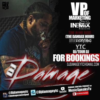 [Trending Item] Damage Control: Podcast with DJ DAMAGE!! @DjDamageYTC