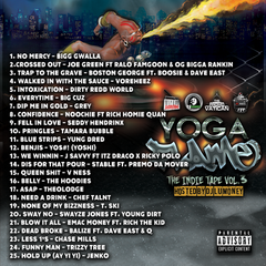 [New Music Alert] The Indie Tape Vol.3 (YOGA FLAME) 🔥 Hosted by @DJLumoney