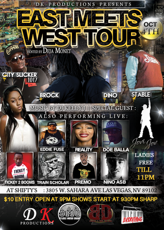 DK Productions presents: EAST MEETS WEST TOUR