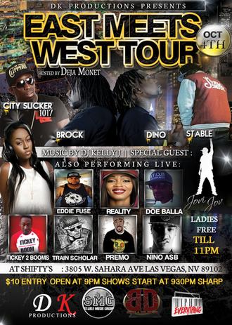 DK Productions presents: EAST MEETS WEST TOUR