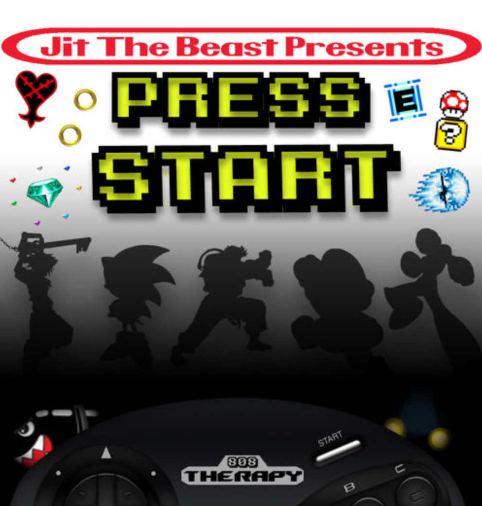 Press Start with Jit The Beast on #HipHopEverything