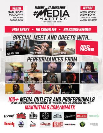 [SXSW] 4th Annual Media Matters Soundstage via @MakinItMag