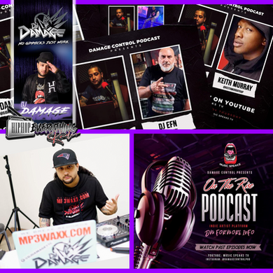 [New Podcast Alert] Catch up with DJ Damage; The Damage Control Podcast and new ventures!!