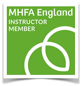 MHFA Instructor Member badge green frame