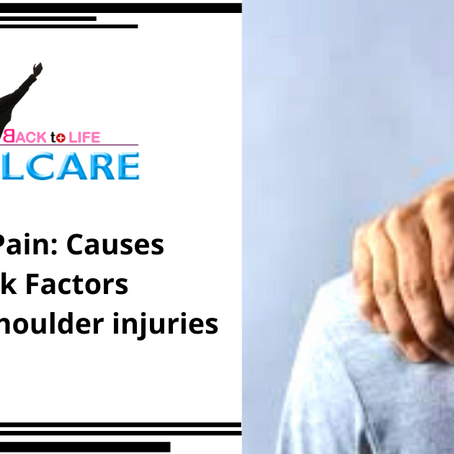 Shoulder Pain and its Causes
