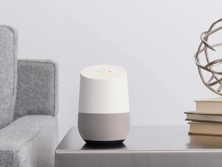 Google Home now at our Brighton Show Home