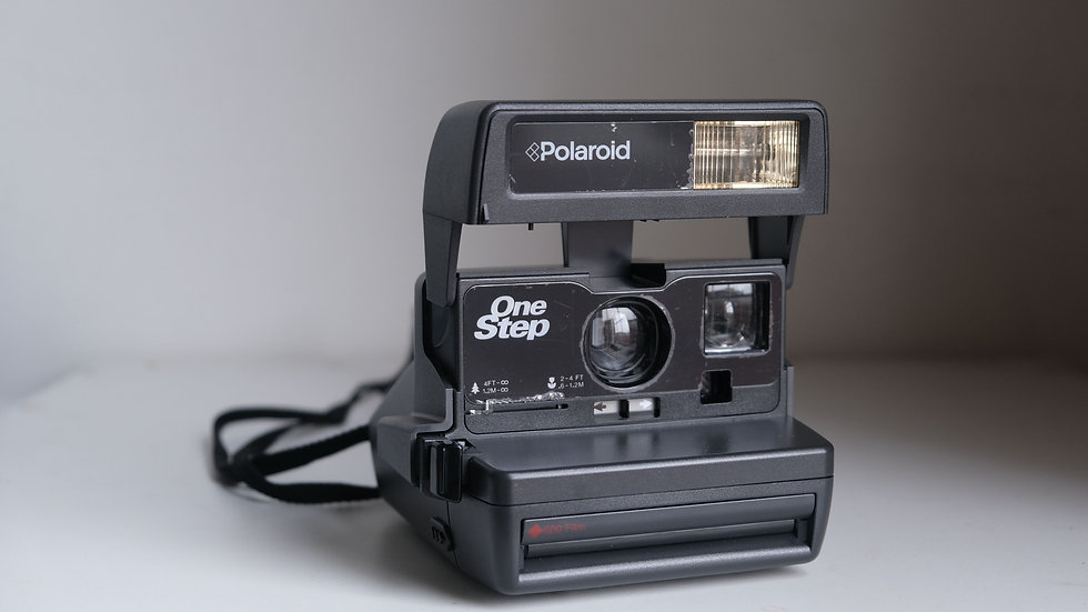 Polaroid One Step with close up lens