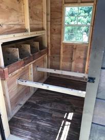 Inside Lodge Coop