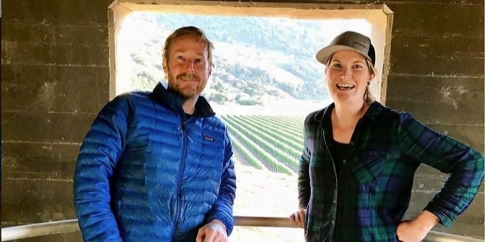 Farm to Table Winemaker Dinner with Trey Fletcher & Laura Roach of Sanford Winery