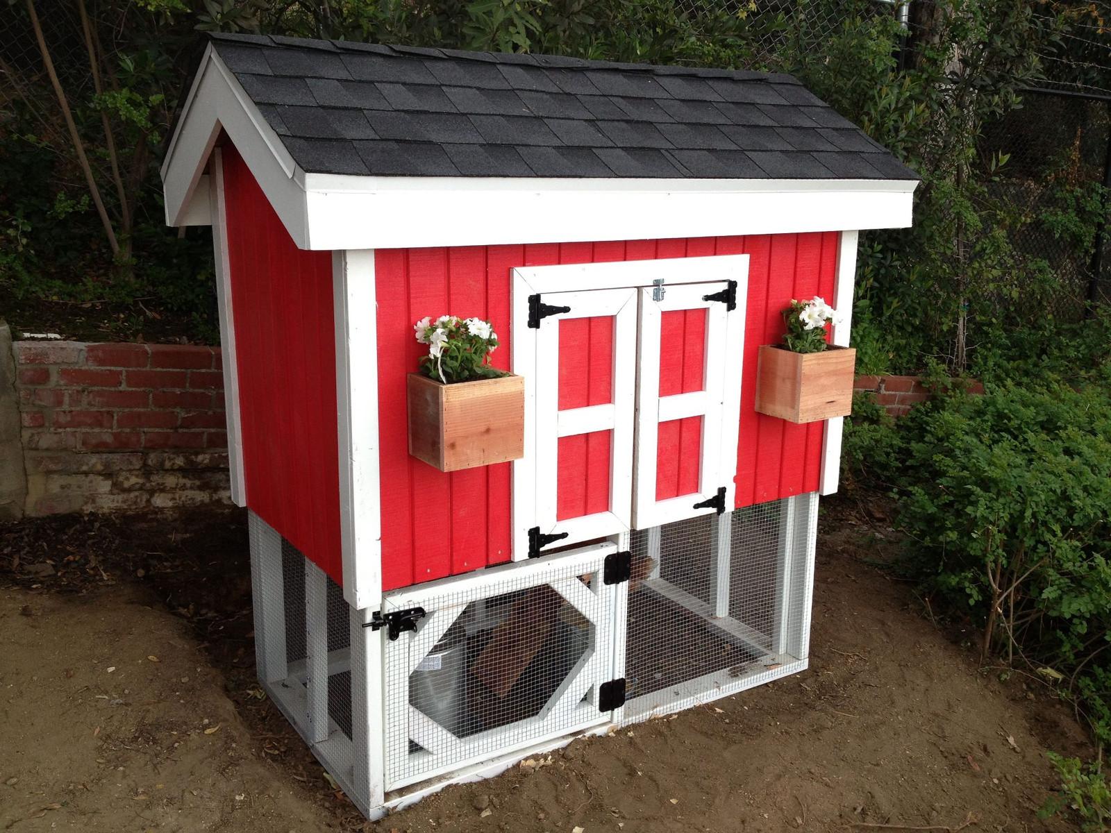Telluride chicken coop for Maintenance free chicken coop