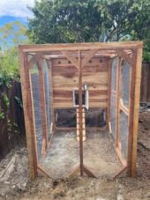 4'x6' Weathertop with Auromatic Chicken Door