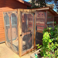 Garden 3'x5' Weathertop with a 6'x'5 Run