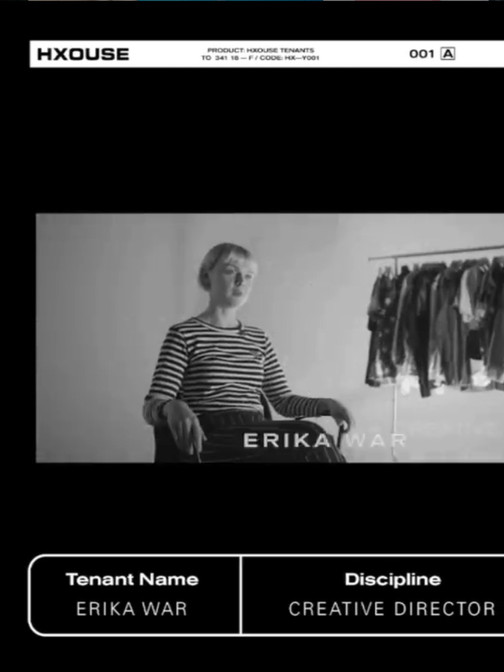 erika war hxouse tenant interview