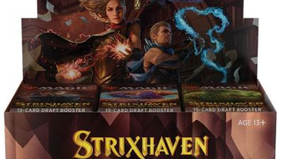 Strixhaven: School of Mages Draft Booster Box