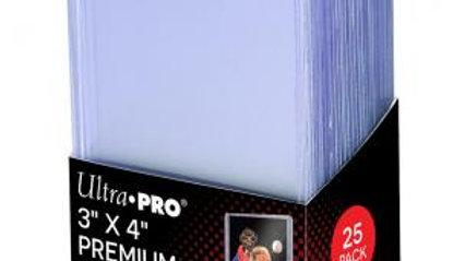 """3"""" X 4"""" Ultra Clear Premium Toploader 25ct"""