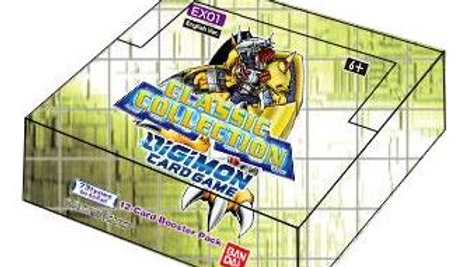 Digimon TCG: Classic Collection Booster Display (24) (EX-01)