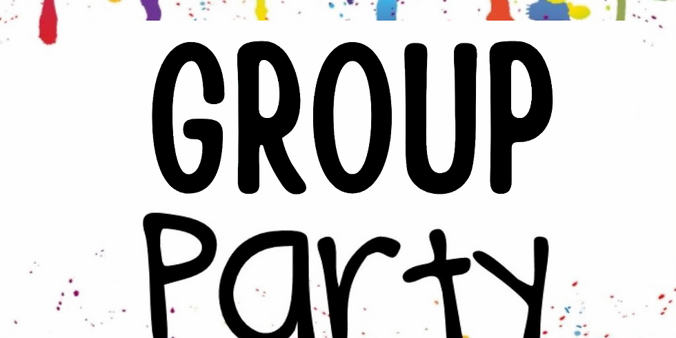 GROUP PARTY RESERVED 3-5 P.M