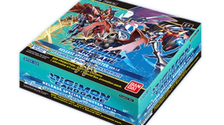 Digimon TCG: Release Special Booster Display Ver. 1.5