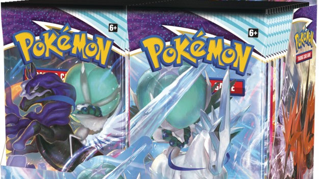 Pokemon: SS6 Chilling Reign Booster DISPLAY