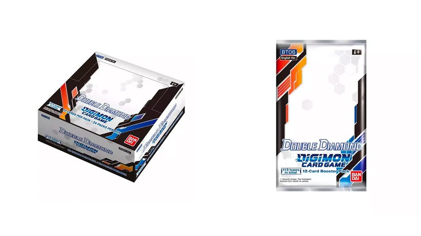 Digimon Card Game: Double Diamond [BT06] Booster BOX