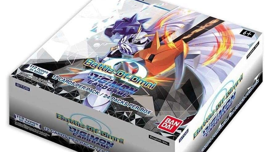 Digimon TCG: Battle of Omni Booster Display (24 pks) WITH WARGREYMON PLAYMAT