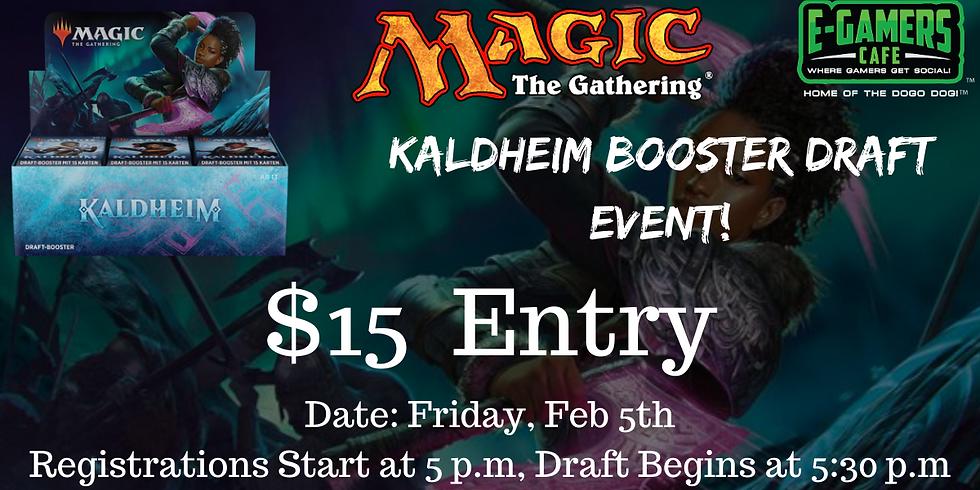 MTG Kaldheim Booster Draft Event