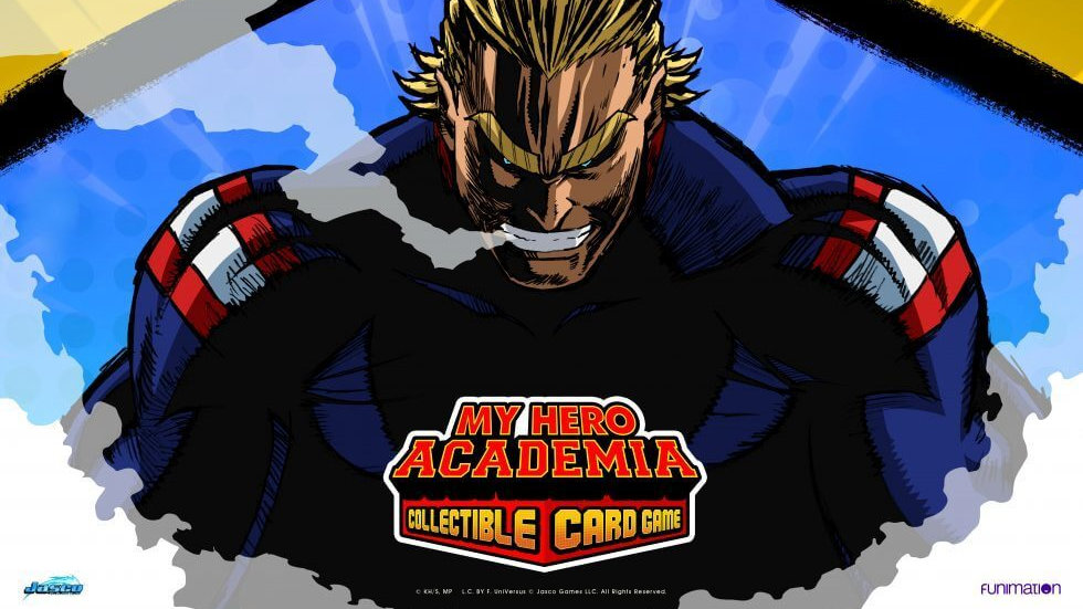 MY HERO ACADEMIA COLLECTIBLE CARD GAME PLAYMAT: ALL MIGHT (PREORDER)