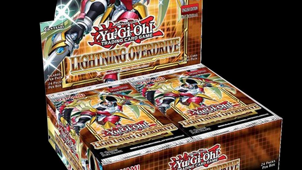 YGO: Lightning Overdrive 1st Ed Booster BOX