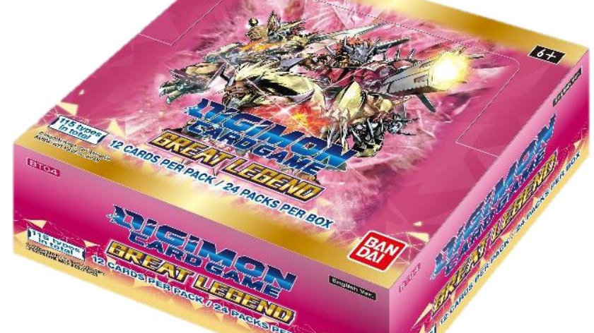 Digimon TCG: Great Legends Booster DISPLAY (Max 3 Displays Per Person)