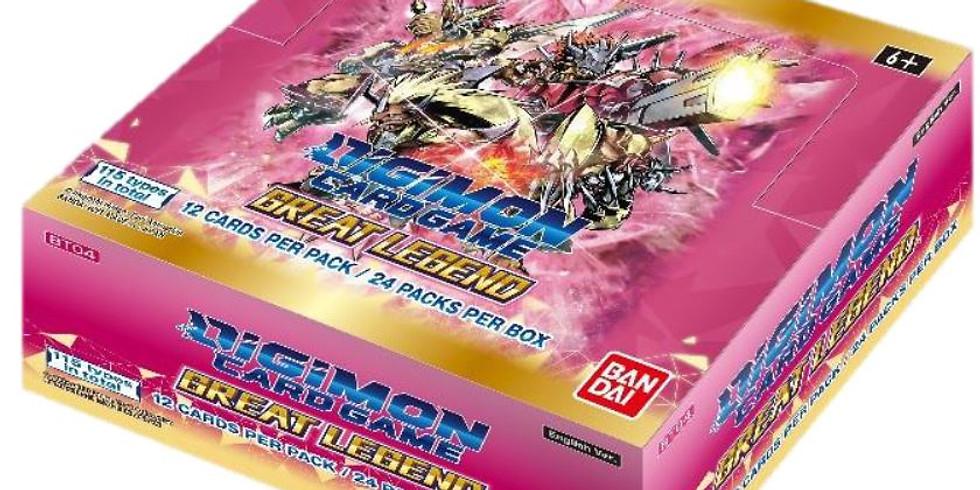 Digimon TCG Great Legends Box Tournament!