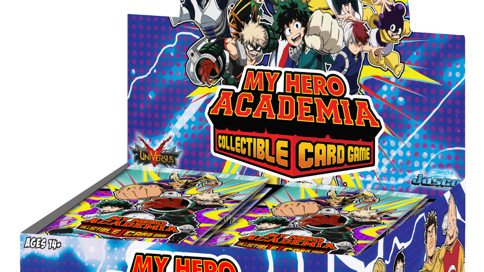MY HERO ACADEMIA COLLECTIBLE CARD GAME BOOSTER DISPLAY (PREORDER)