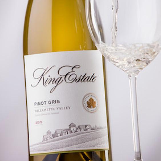 King Estate Winery Tasting