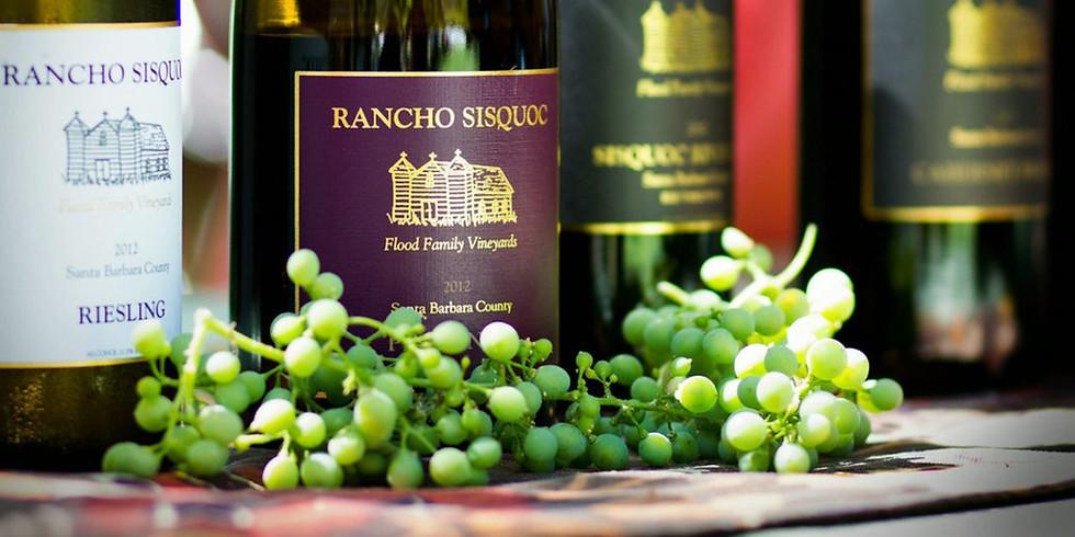 Rancho Sisquoc Wine Tasting