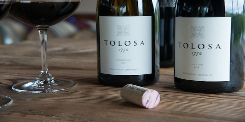 Tolosa Winery Dinner